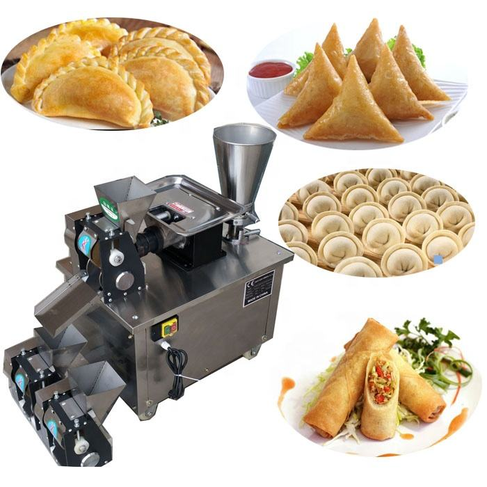 110v 220v 240v automatic dumpling gyoza machine/Russia ravioli/pierogi/pelmeni/empanada making machine