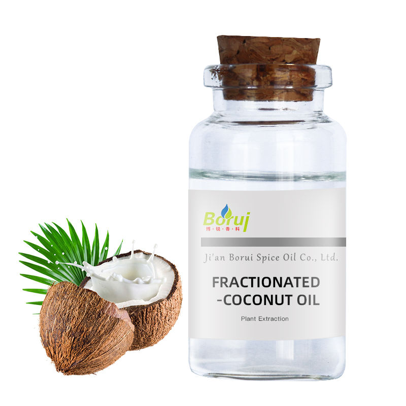 Manufacture wholesale cold press base oil 100% pure organic refined fractionated coconut oil