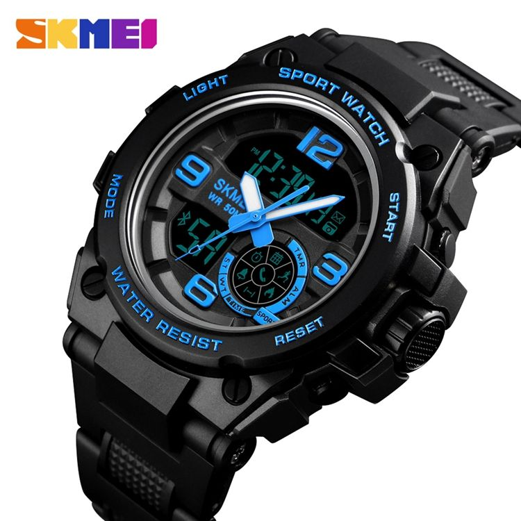 SKMEI 1517 Digital Sports Watch 50M Waterproof Custom Logo Watches Wholoseale Luminous Watch