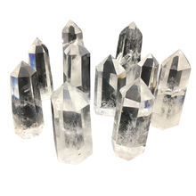 Natural Clear Quartz Wand Point Crystal Tower for Healing