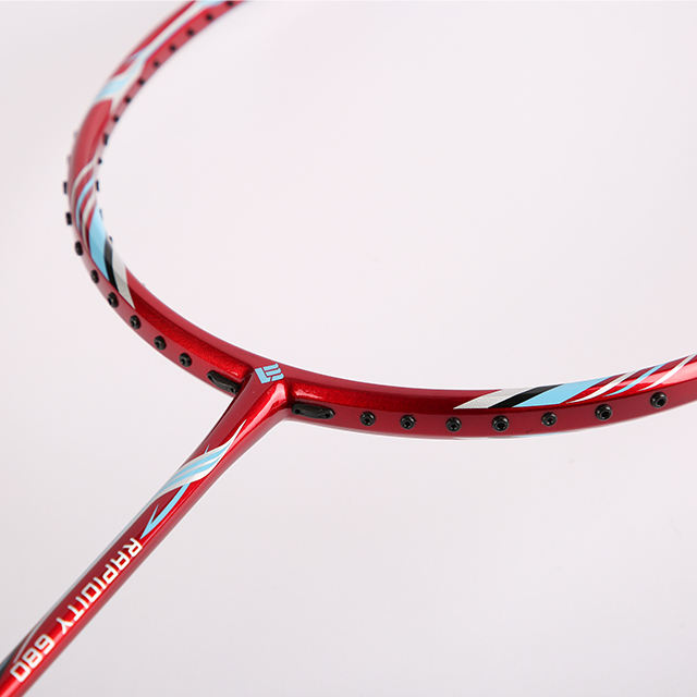 Lining badminton racket made of full carbon