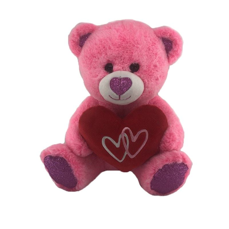 Stuffed Teddy Bear Toys For Valentine Valentine Day Lovely Teddy Bear Plush Toy Valentine Gift Teddy Bear Soft Toy