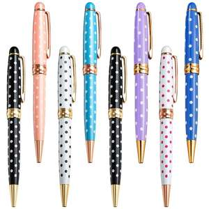 Huahao brand Best Writing Twist Hotel Branded Luxury Gift Promotion Ball Point Pen Heavy Advertising Personalized Metal Pens Wit
