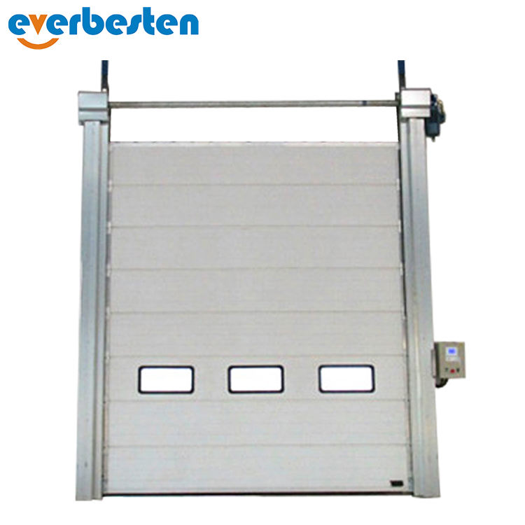 2019 Shanghai Everbesten Modern Stainless Steel Sectional Garage Door Prices