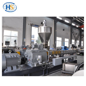 Twin screw plastic pellet compounding functional masterbatch extruder machine