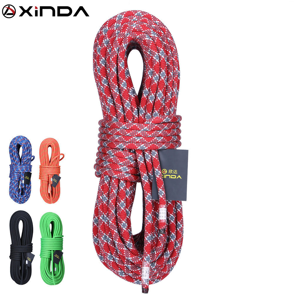 XINDA 18-38 kN 9-14mm high strength static nylon rope climbing