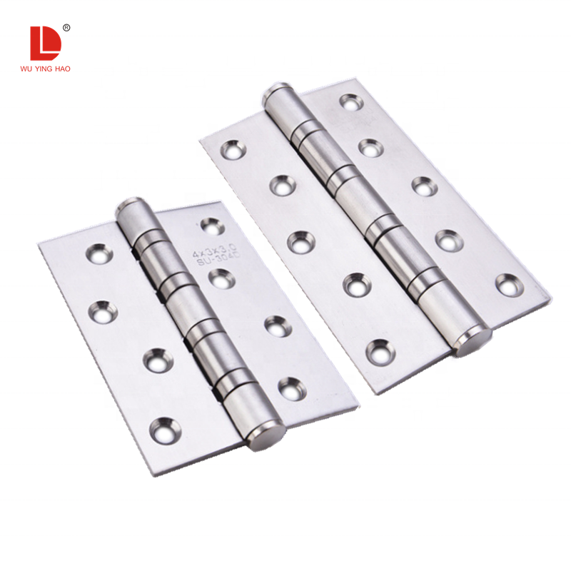 WUYINGHAO Cheap price satin color 4-5 inches stainless steel butt hinges