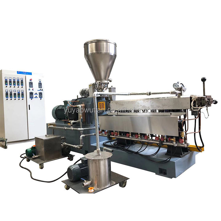 Double Plastic Granulator Twin Screw Extrusion Granulator