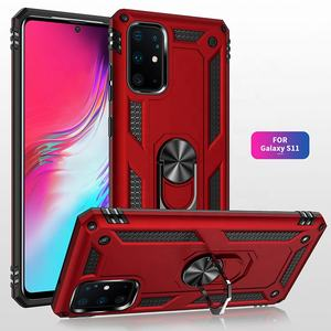 2020 Latest Stylish Custom Design Strong Car Bracket Metal Kickstand Back Cover Case for Samsung S20 S20 Pro S20 Ultra