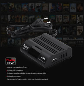 Hitam HD-99 DVB T2 H.265 TV Box MPEG-4 HD Penuh 1080P IPTV DVB-T2 Receiver Set Top Box