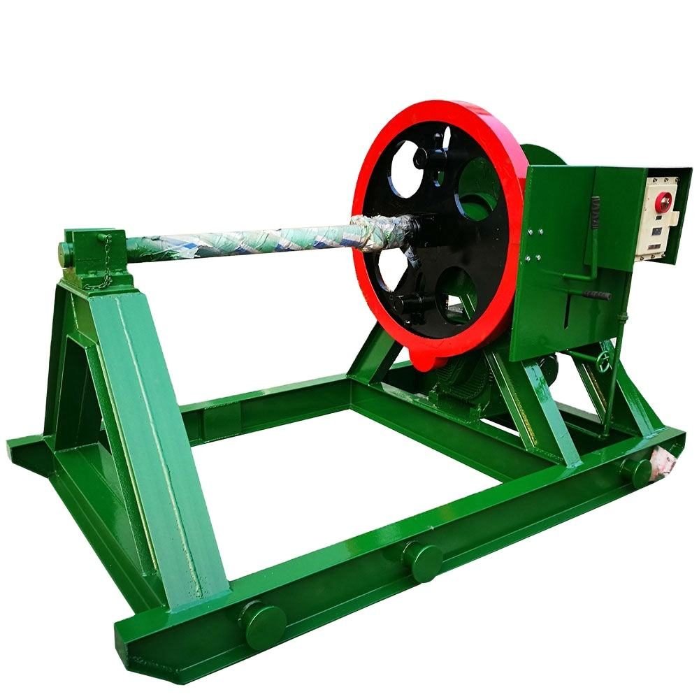 Supply Well Drilling Lifting Equipment Electric Rope Reel Winding Machine
