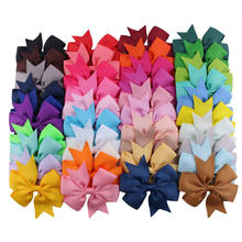 Hair Bows For Girls Grosgrain Ribbon Large Boutique Bow Alligator bow clip set Teens Kids