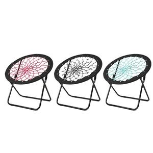 Bunjo Game Chair Bungee Dish Chair Folding Camping Relax Fun Chair