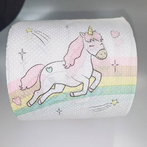 Murah Grosir Unicorn Toilet Kertas Tisu Roll Dispenser