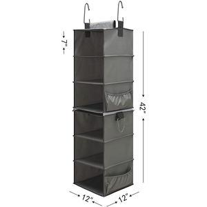 Estante extra/íble zhanxin Armario de pl/ástico apilable Organizador de Almacenamiento Dormitorio cajones Cesta de Almacenamiento para Cocina Armario