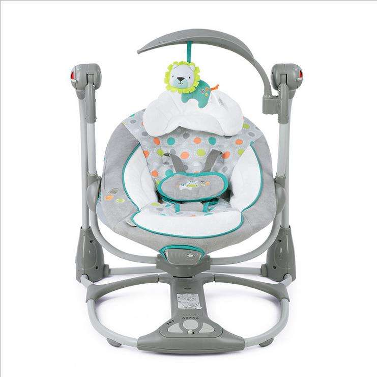 Newborn Baby Rocking Chair Music Electric Swing Baby Comfort Chair Baby Cradle Suitable for 0-3 Years//