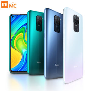 Global Version Xiaomi Redmi Note 9 4GB 128GB Mobile Phone Helio G85 Octa Core 48MP Quad Rear Camera 6.53