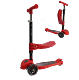 New Kids Scooter Mini 3 In 1 Red Kick Scooter Cheap Price