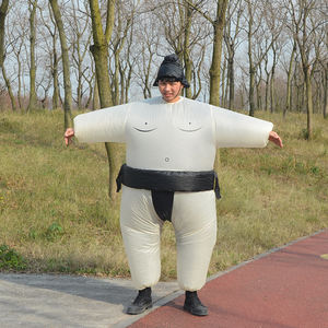 HUAYU Amazon Popular Sports Game Inflatable Sumo Costume Blow Up Cosplay Costume For Sports Meeting