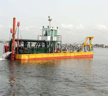 New Listing DFCSD-450 Cutter Suction Dredger sand pump dredger boat