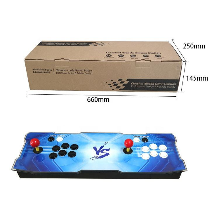 Hot selling update 3399 in 1 retro classic Pandora game box 11 2 players handheld Arcade Video Game Console for sale