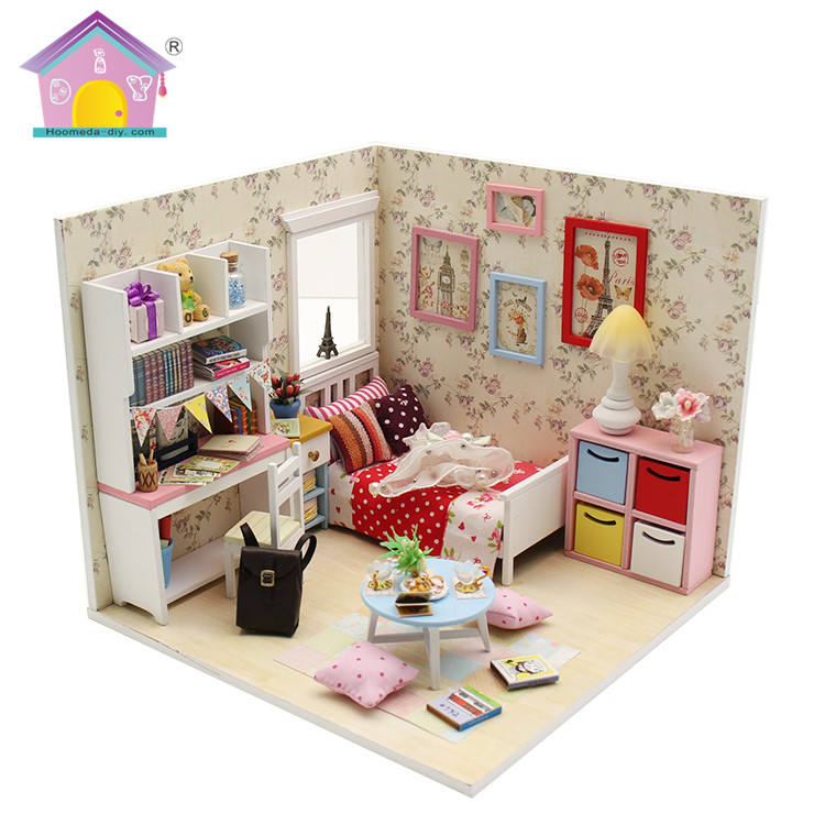 1 18 scale diy dolls house furniture for children,dolls house furniture kits uk wholesale