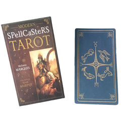 78pcs Modern Spellcaster's Tarot Tarot Cards Deck Board Games English For Family Gift Party Playing Card Game Entertainment