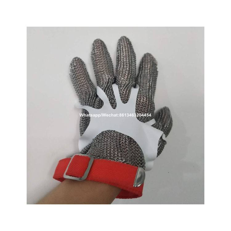 High Quality Stainless steel Welding Chainmail Butcher Safe Gloves