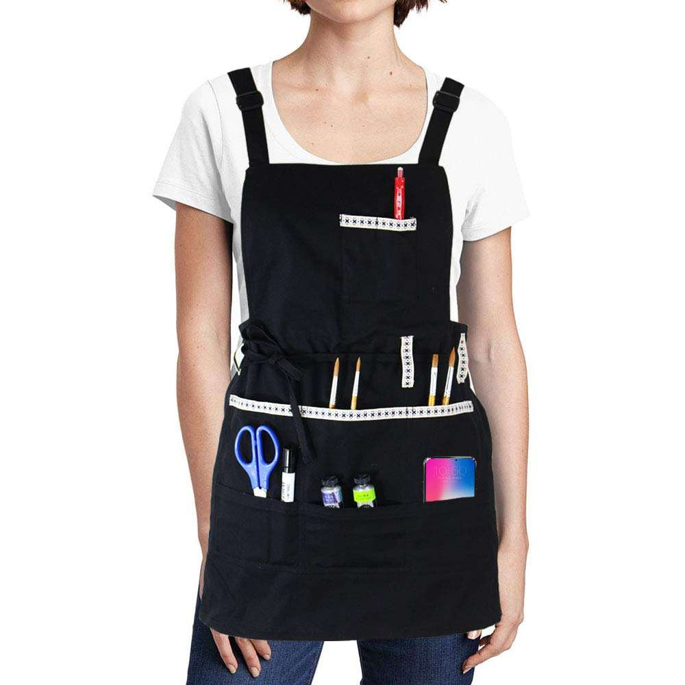 Waterproof artist canvas adults gardening custom painting painter apron