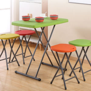 New Design Competitive Price Color Customizable Modern Personal Plastic Foldable Height Adjustable Table For Work Study