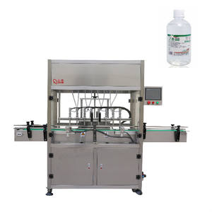 automatic small bottle liquid filling capping and labeling machines bottle packing filling machine production line for bottling
