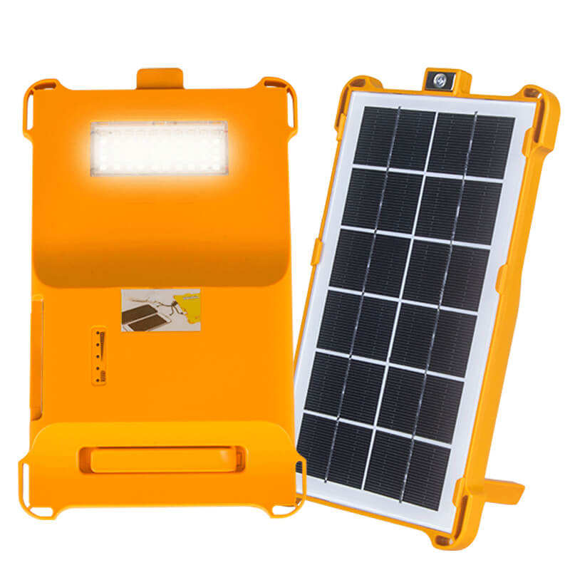 YANGFA Backpacker Green IP65 Waterproof 3W Rechargeable Solar Power Bank LED Solar Camping Light