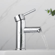 CLY-01 Cylinder Series 40mm cartridge  basin faucet bathroom taps Chrome plating