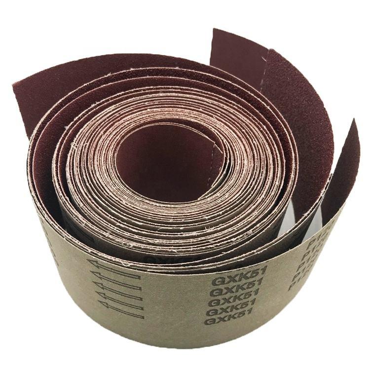 SATC ISO9001 and MPA EN 12413 certificate European standerd 115mmx5m 240grit sand cloth roll for polishing