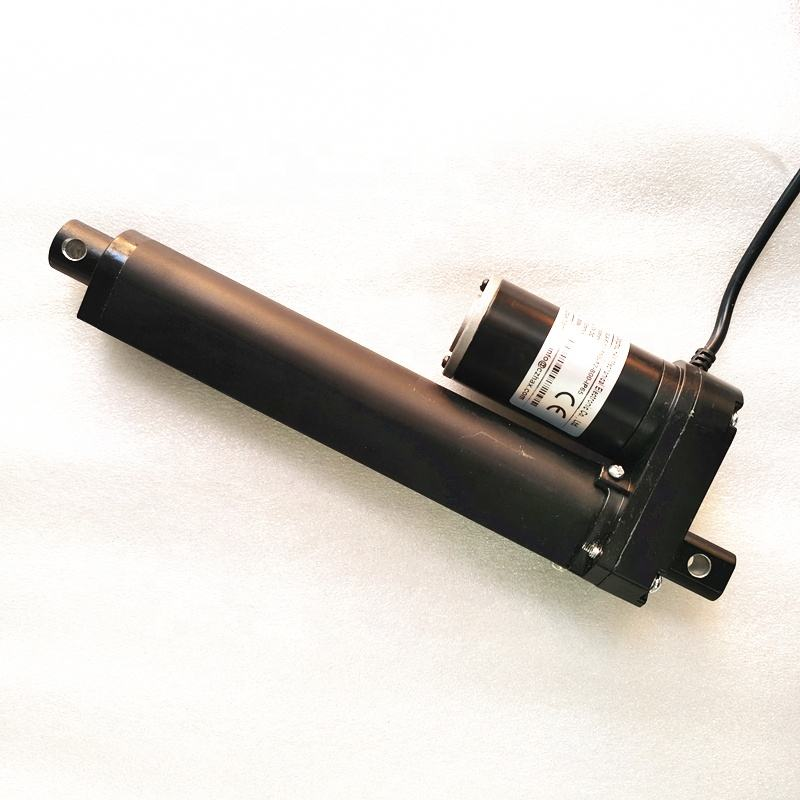 electric linear actuator micro 12 volt black color with position feedback