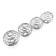 Wholesale ball shape spring protein shaker ball stainless steel