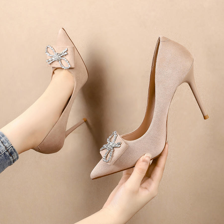 2020 The fairy wind fashion women high heel shoes and women's pumps