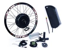 48v 2000w ebike e bike electric bike hub motor conversion kit with battery