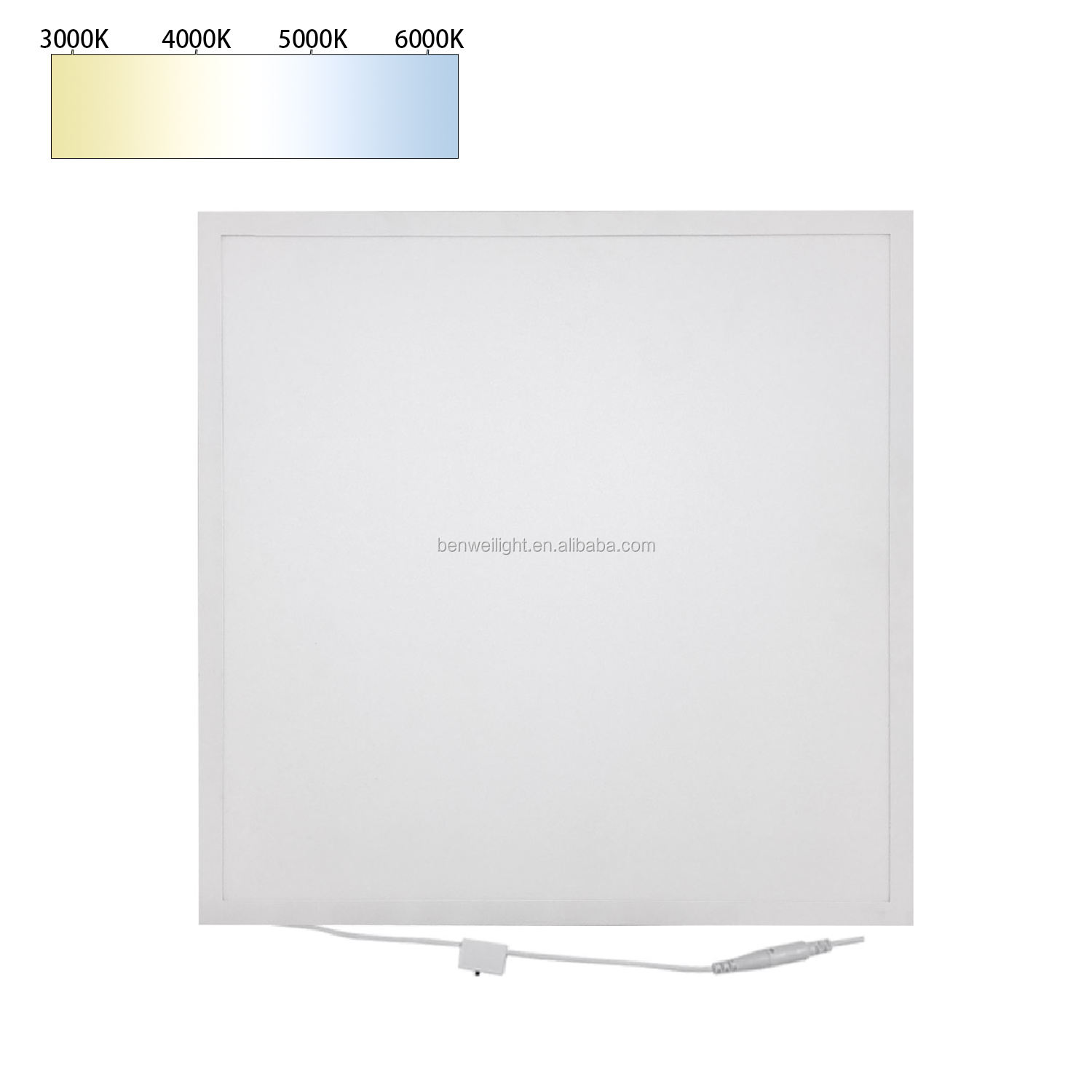 CRI>95 Photographic Panel Light 36W 40W Flicker Free LED Flat Panel Light for Ceiling High CRI 600x600 LED Film Panels
