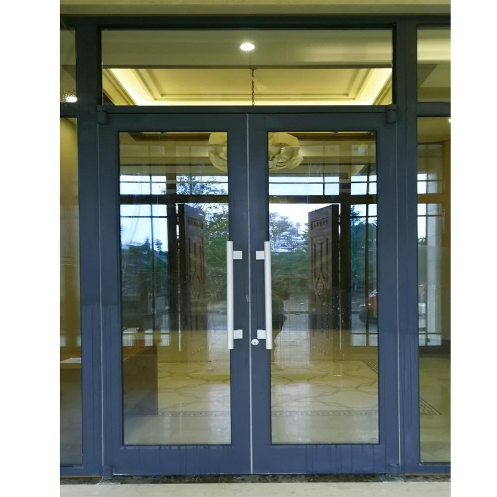 Good Price Commercial Aluminum Store front Door KFC Shop Front Door