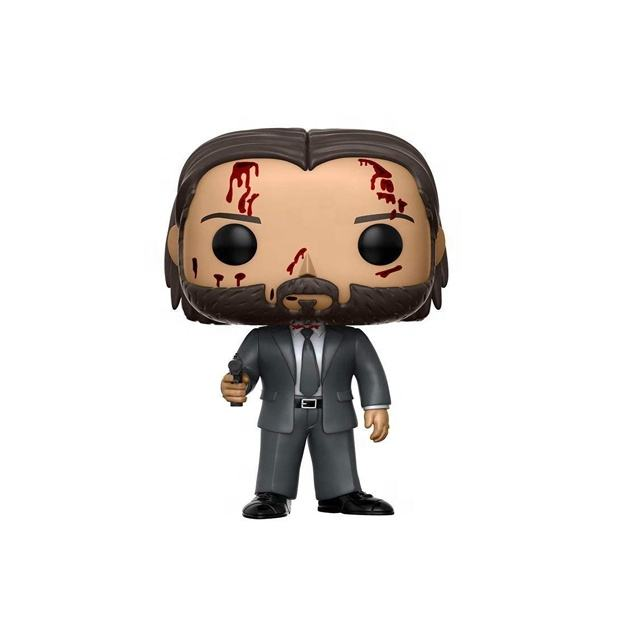 John Wick 2019 kids toys FUNK POP Bloody Vinyl Dolls Action Figure Collection Model Toys gift