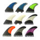 Different Styles Surfboard Fins FCS/FCS2/Future Surf Fins Custom Fiberglass Carbon Tri Fin Set