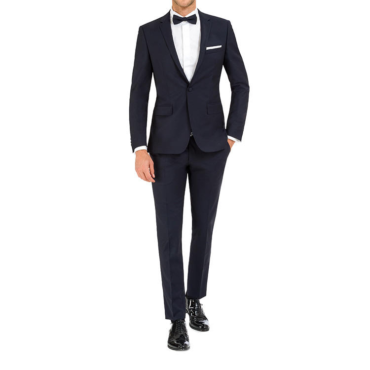 Customized Private Label Events Party Groom Men Nice Official Male Groomsmen Fitted Suits Wedding Slim Fit Two Piece