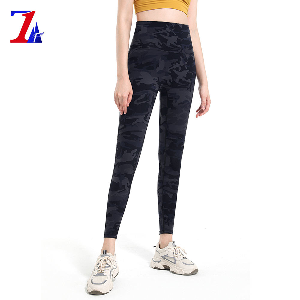 Womans Fitness Leggings Compression Work Out Yoga Pants Sexy Tights 2021 Womens Fitness Printed Leggings Camo Compression