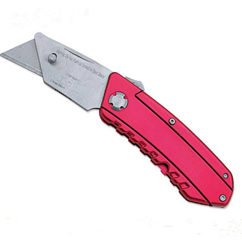 High Quality outdoor Folding Utility Knife red color