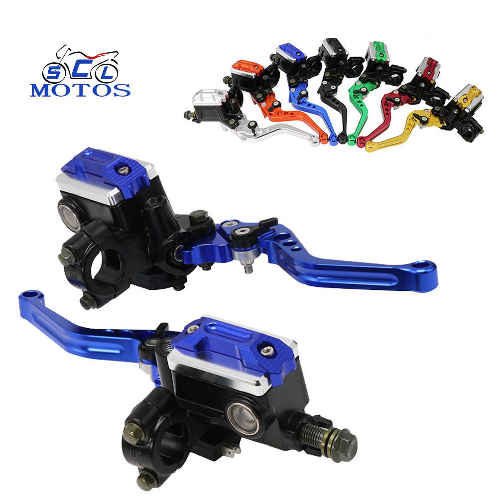 Brake pump motorcycle Master Cylinder Adjustable Handle Hydraulic clutch Lever Brake Pump