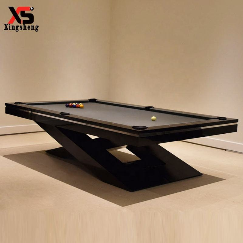 High quality custom modern family solid wood jiujiang slate 3 rubber cushions carom billiard pool table 7ft/8ft/9ft