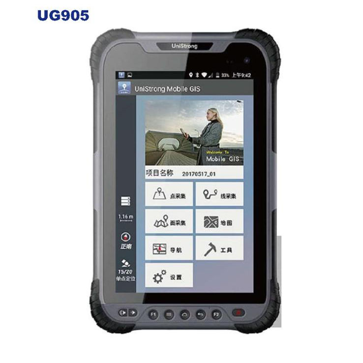 Android Tablet ControllerためGPS RTK Handheld GPS ReceiverコレクターGeological Survey Instrument Handheld GIS Data Collector
