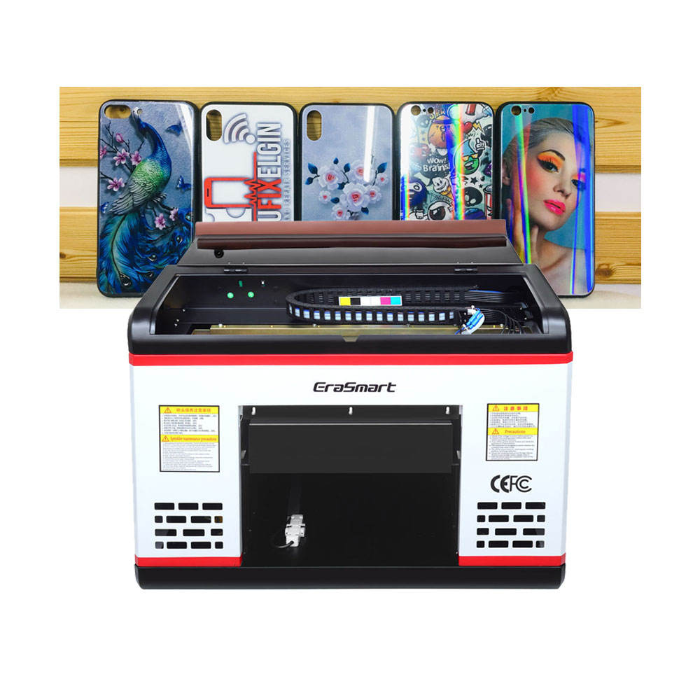 EraSmart A3 Desktop Flatbed UV Printing Machine For Mobile Phone Cover