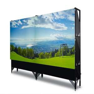 46 Inch atau 55 Inci Ruang Kontrol Video Wall, 2*2 Video Wall LCD Display, iklan LCD Display